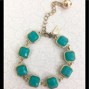 Pretty kate spade teal crystal bracelet